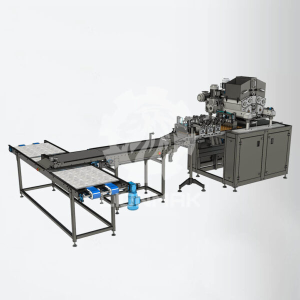 Biscuit depositor for center filled cookies manufacturing