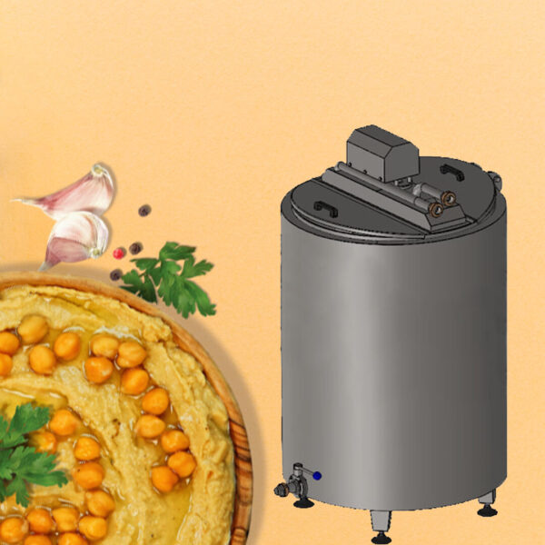 Chickpea Boiling Tank