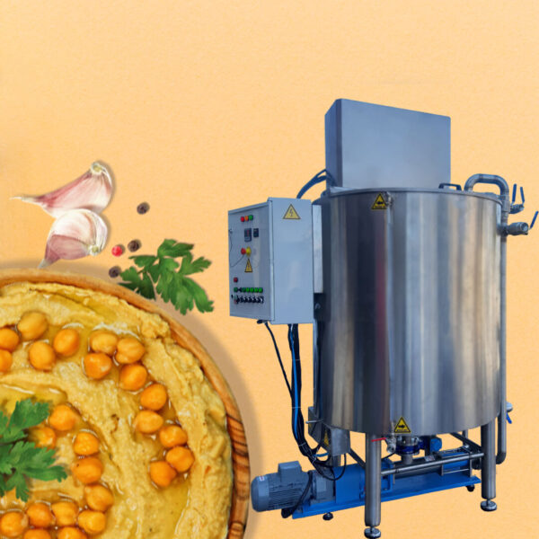 Chickpeas Cooking Tank