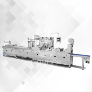 FULLY AUTOMATIC VACUUM THERMOFORM PACKAGING MACHINE