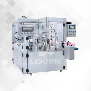 ROTARY FILLING AND SEALING MACHINE