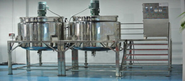 Mixer and Essence Mixer Soap Production